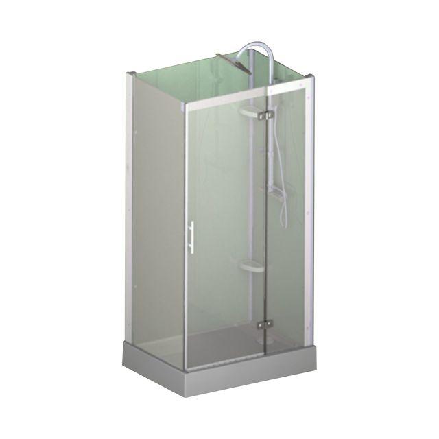 Cabine de douche Castorama pas cher promo douche, achat Cabine intégrale Flotile 110 x 80 cm pas Cher prix promo Castorama 759.00 €