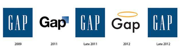 GAP mark evolution...HA!