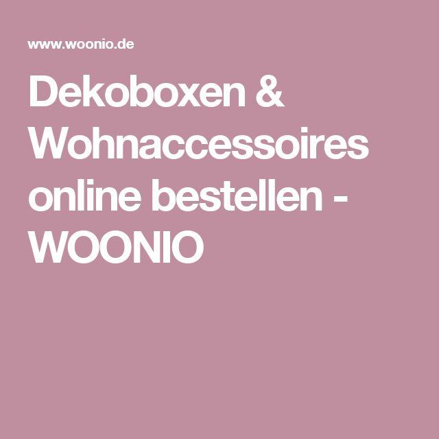 Dekoboxen & Wohnaccessoires online bestellen - WOONIO