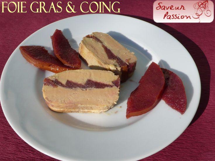 Marbré ou pressé de foie gras ? En voilà un au coing poché au vin ! - SAVEUR PASSION