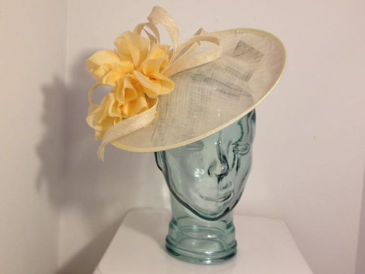 Buttercup....ANY COLOUR! Lemom Yellow saucer #hatinator can be bespoke made in other colours. Available to buy online or in store at Hadleigh Hats in Essex.     #wedding #ascot occasion #races #ladiesday #motherofthebride #motherofthegroom #weddingguest    https://www.hadleighhats.co.uk/Hatinators/buttercup-pastel-lemon-yellow-pale-saucer-gold-headband-silk-flower-vines-leaves-wedding-ascot-occasion-races-ladies-day-mother-of-the-bride-groom-hatinator