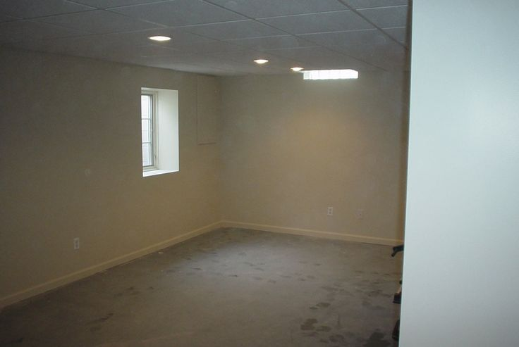 Drop ceiling and recessed lights | John S. Basement ...