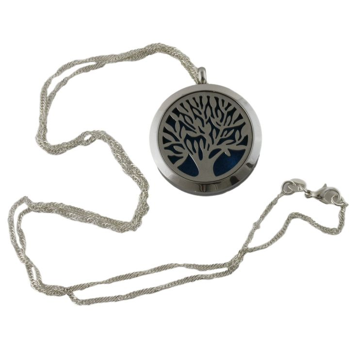 Essential Oil Diffuser Necklace (Tree) - Curated Naturals