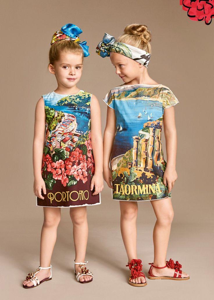 Dolce & Gabbana Children Girl Collection Summer 2016   Dolce & Gabbana