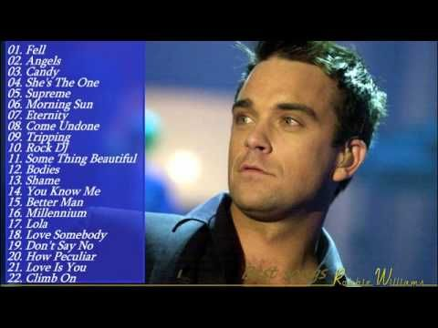 Robbie Williams's Greatest Hits 2015 || Best Songs Of Robbie Williams [Full Album 2015] - YouTube