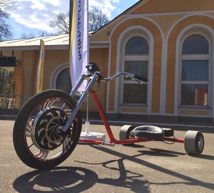Electric drift trike is fully charged and ready for a crazy run #drift #electric #trike #gogreen