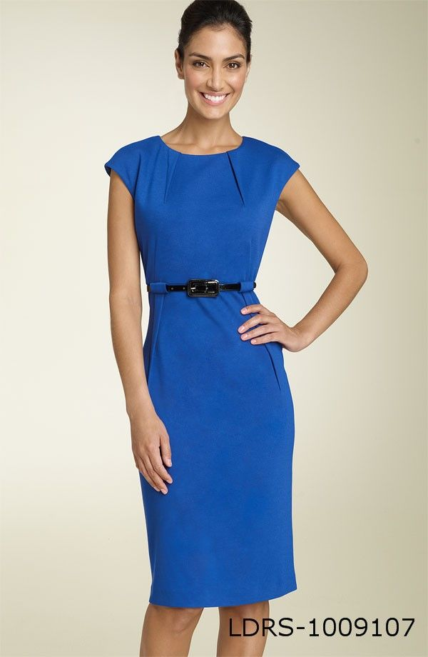 Royal Blue Dress.  Great for work or an impromptu dinner date!