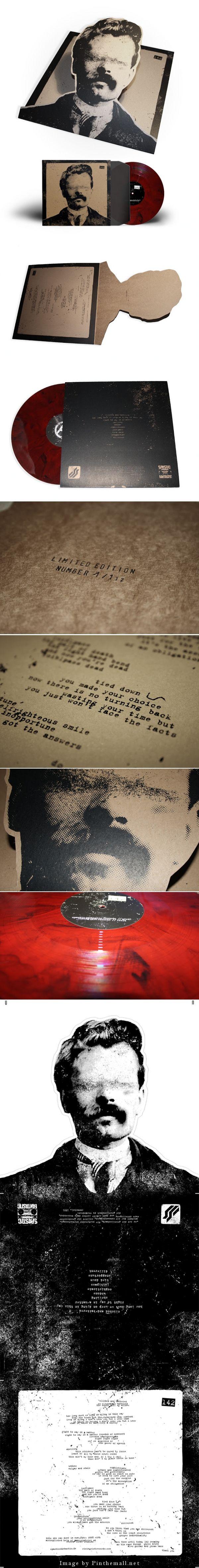 142 - Demo LP Packaging (Concept) Designer: Marcel Richard - See more at: http://www.packagingoftheworld.com/