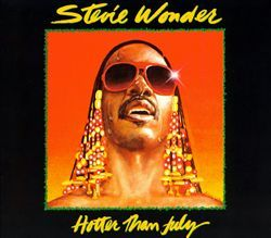 Stevie Wonder- Hotter Than July [1980]... You took me riding in your rocket, gave me a star, but at a half a mile from heaven you dropped me back down to this cold, cold world. My all-time favorite Stevie chorus!