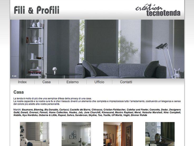 Website Fili & Profili e Creation Tecnotenda