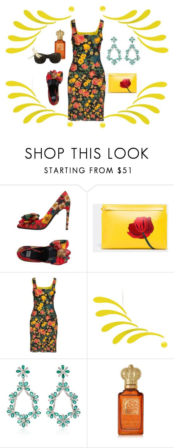 """""""Untitled #789"""" by oooooh ❤ liked on Polyvore featuring FAUSTO PUGLISI, Loewe and Clive Christian"""