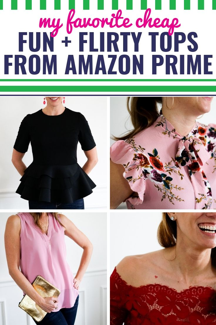Amazon Fashion Finds Best Fun And Flirty Shirts Under 30 My Life And Kids Night Outfits Casual Date Night Outfit Going Out Outfits