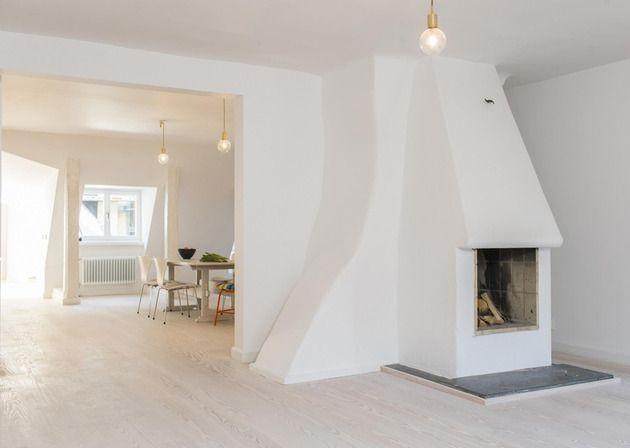 #Wohnungen Einfaches Stockholm Apartment Präsentiert Originalrahmen Des  Gebäudes #home #besten #neu #