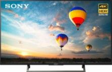 """Sony - 55"""" Class (54.6"""" Diag.) - LED - 2160p - Smart - 4K Ultra HD TV with High Dynamic Range - Larger Front"""
