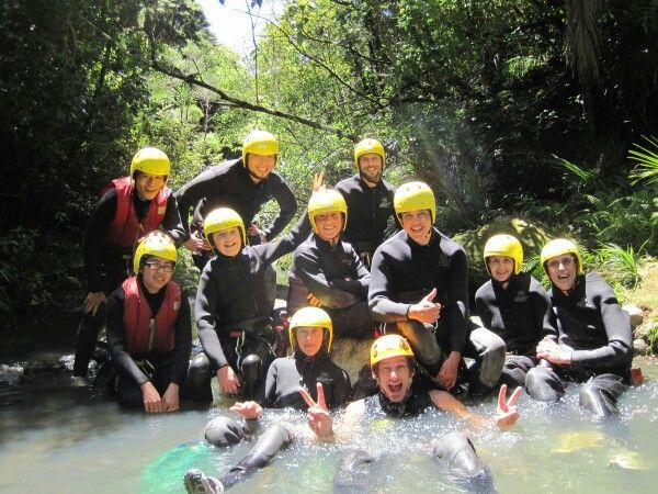 Canyoning in Auckland New Zealand