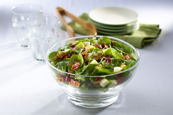 Try our Warm Bacon and Shallot Spinach Salad to brighten your day! http://www.knorr.ca/en/RecipesView.aspx?rid=7889