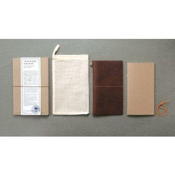 Midori TRAVELERS Notebook // Brown - £40.00