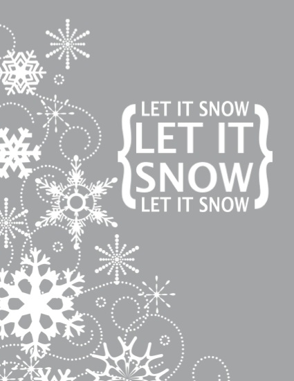 Let it snow printable and banner: Christmas Cards, Christmas Time, Winter Printable, Winter Wonderland, Christmas Decor, Free Printable, Let It Snow, Snow Printable, Christmas Printable