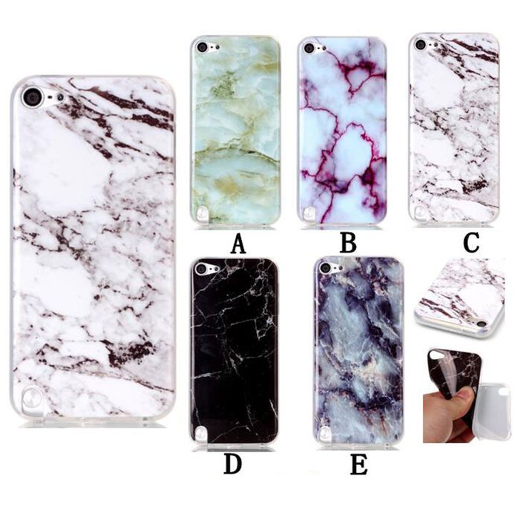 For Apple ipod Touch 6 Case Marble Patten Back Cover Mobile Phone Bags Cases For ipod Touch6 TPU 4.0 Inch Protective Shell