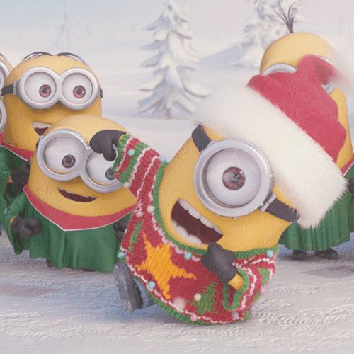 Everyone loves an ugly sweater party. | Minions Movie | In Theaters July 10th