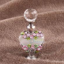 5 ml Manual de Pintura de La Vendimia de Cristal Mariposa Regalo Botella De Perfume Recargable