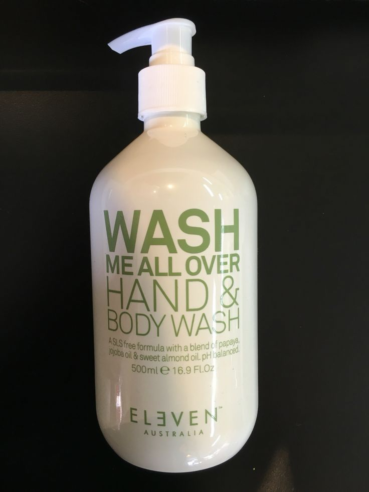 Eleven Wash me all over Hand and Body Wash Uptown Hair Studio Eleven Stockist