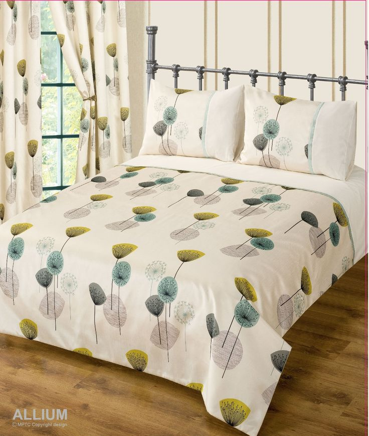 king size bed allium teal duvet cover modern bedding set amazoncouk