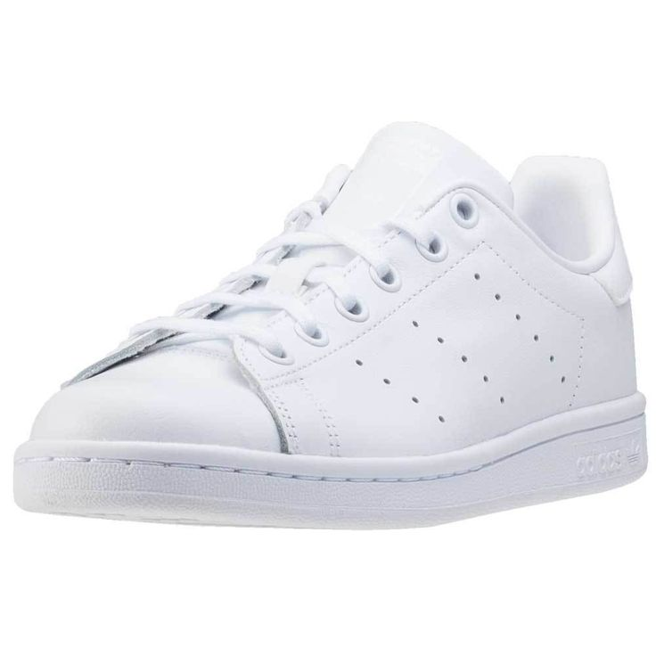 adidas Stan Smith J Kids Trainers White White New Shoes | eBay