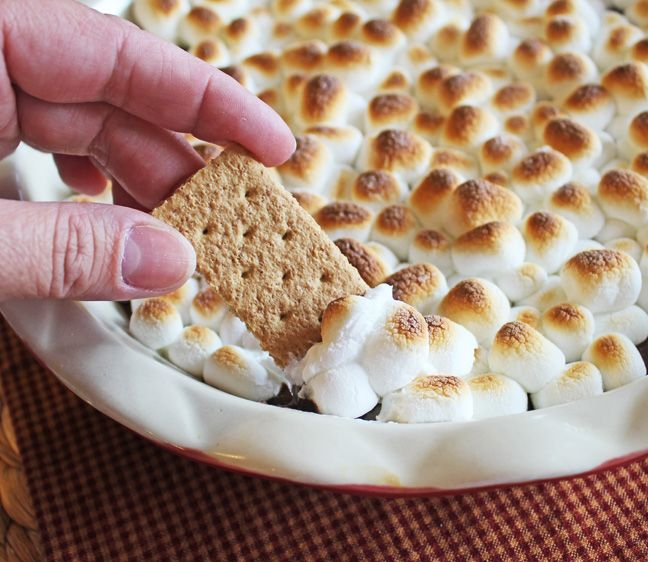 Easy S'more Dip
