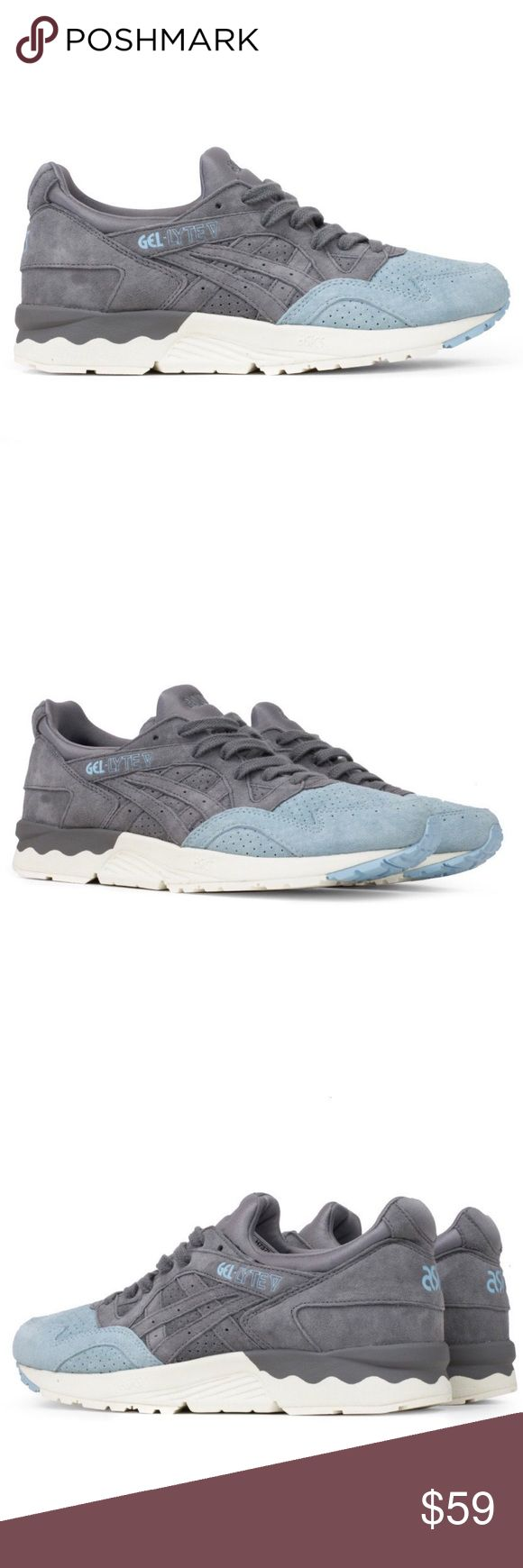 Asics Tiger Mens Size 11 Shoes GEL-Lyte Sneakers Asics Tiger Mens Sneaker  Color: Aluminum  Size: 11 US Men  Details:  - Round Toe  - Perforated vamp  - Colorblock suede construction  - Padded fabric tongue and collar - Lace-up vamp closure - Padded removable insole - Gel cushioned midsole - Grip sole - Imported - Retail $120  Like new condition - only worn once (see photos) Asics Shoes Sneakers
