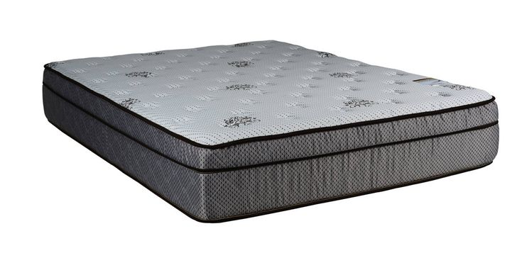 Fifth Ave Foam Encased Eurotop Soft Single Sided Full Mattresses