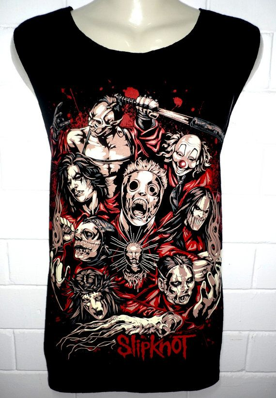 Slipknot Metal Rock Band Music Metal T Shirt par BestRockShirts, $12.90