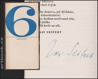 Skácel, Mikulášek, Seifert ad. - NÁVRATY. - 1964. S podpisy 6 autorů.