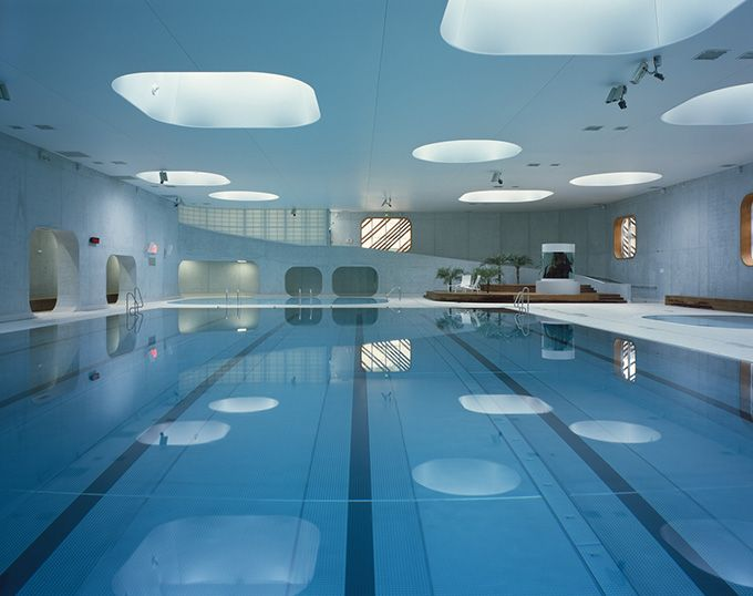 Feng Shui-inspired Fort Swimming Pool, Issy-les-Moulineaux, France - The Cool Hunter