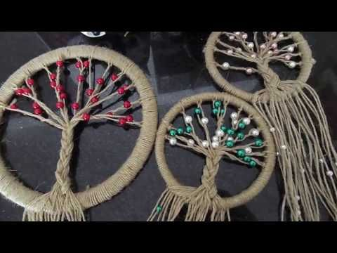 DIY: Super Easy Way to Make a Dreamcatcher | Step by step! Easy tutorial! DIY With DianaTA - YouTube
