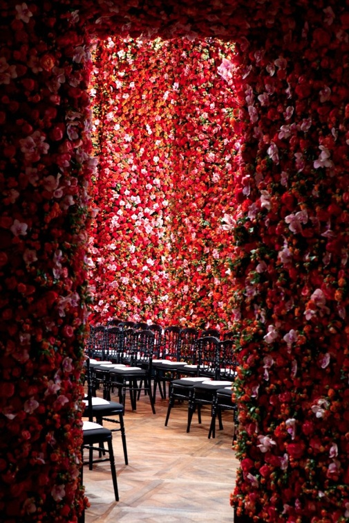 Dior's Show-Stopping Set of a Million Flowers