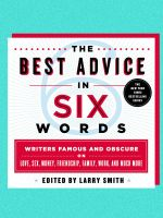 "Amy Poehler, Shonda Rhimes, & More Give You Their Best Advice In 6 Words #refinery29  http://www.refinery29.com/2015/11/96839/the-best-advice-in-six-words-book#slide-9  ""Don't fear love at first flight."" — Allison Williams..."