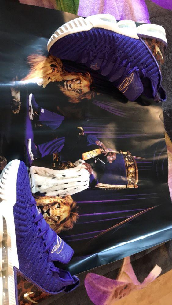 sports shoes 80eb6 ef12c Lebron 16 Court Purple SZ8.5 #fashion #clothing #shoes ...