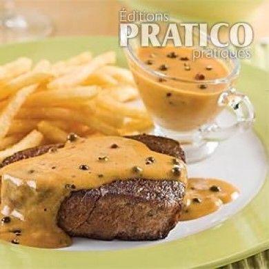 Sauce aux trois poivres et au cognac - Recettes - Cuisine et nutrition - Pratico Pratique