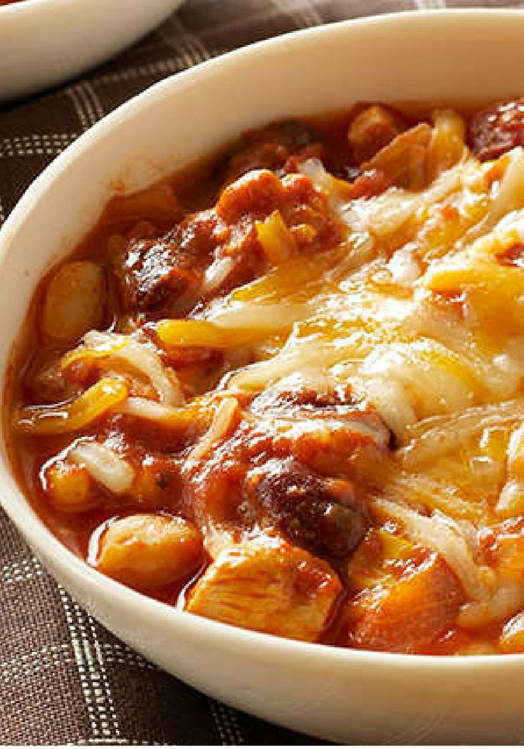 Slow-Cooker Chunky Chicken Chili – This chicken thigh chili fits into your Healthy Living plan, is slow-cooker convenient, and tastes amazing. Simply put, it's a winner on every count.