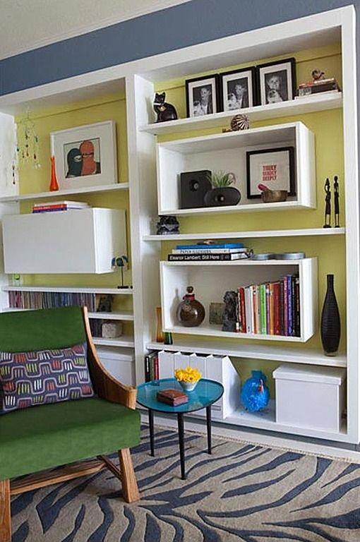 17 best images about contemporary built ins on pinterest modern living rooms modern bookcase - Contemporary built in bookshelves ...