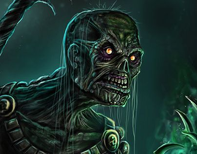 "Check out new work on my @Behance portfolio: ""Undead Warlock"" http://be.net/gallery/49886055/Undead-Warlock"