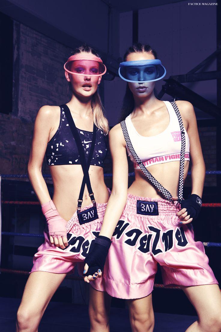 Factice Magazine | The French Fashion Magazine | Annelie and Nika Mazi by Reno Mezger