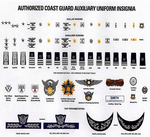 (2016) United States Coast Guard Auxiliary Insignia, Medals & Service Ribbons - Herbert Booker - Picasa Web Albums