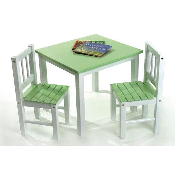Lipper International Kidsu0027 3 Piece Table And Chair Set   AllModern