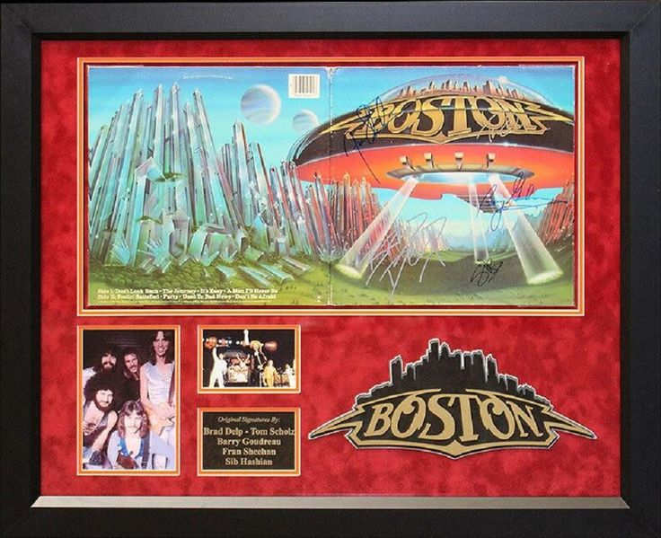 Boston - Don't Look Back - Signed Album