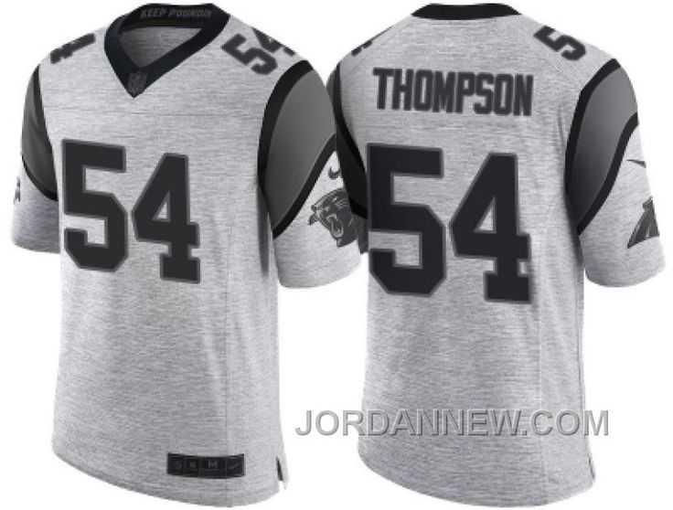http://www.jordannew.com/nike-carolina-panthers-54-shaq-thompson-2016-gridiron-gray-ii-mens-nfl-limited-jersey-discount.html NIKE CAROLINA PANTHERS #54 SHAQ THOMPSON 2016 GRIDIRON GRAY II MEN'S NFL LIMITED JERSEY DISCOUNT Only $23.00 , Free Shipping!