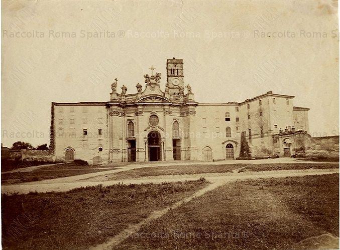 Basilica di Santa Croce in Gerusalemme Anno: 1875 ca