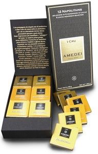 Amedei 1 Cru, single origin chocolate neapolitans - A sophisticated, single origin chocolate tasting box from Amedei containing 12, dark chocolate neapolitans from 6 single origins. http://www.MightGet.com/february-2017-2/amedei-1-cru-single-origin-chocolate-neapolitans-.asp
