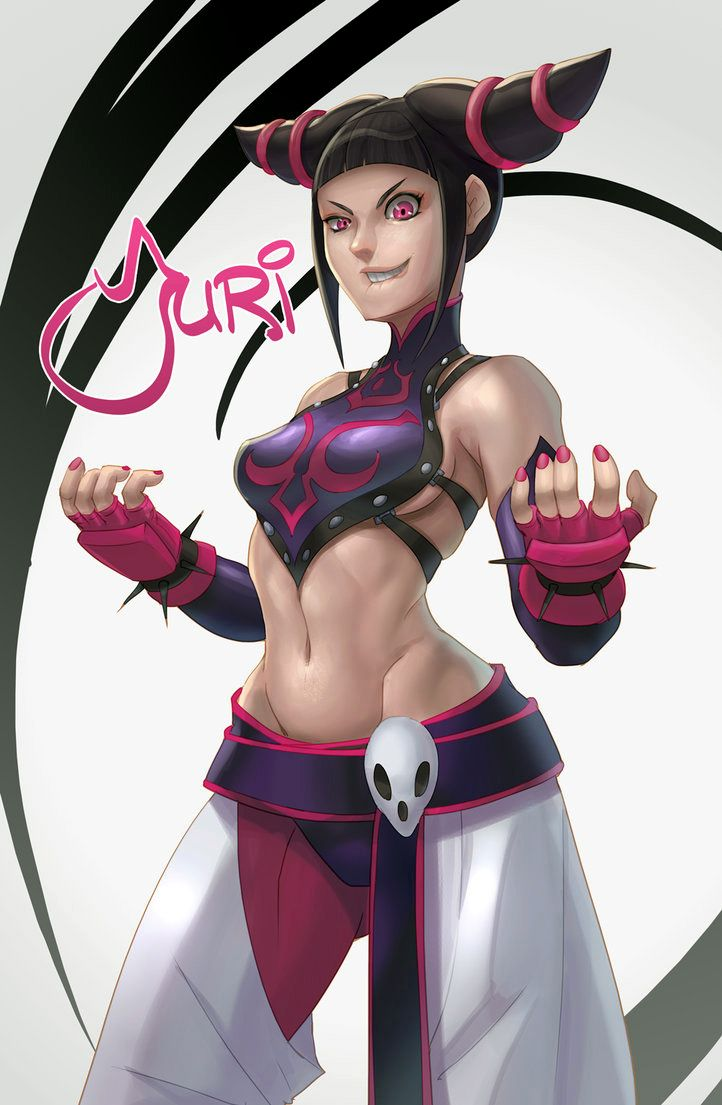 Street Fighter - Juri Han